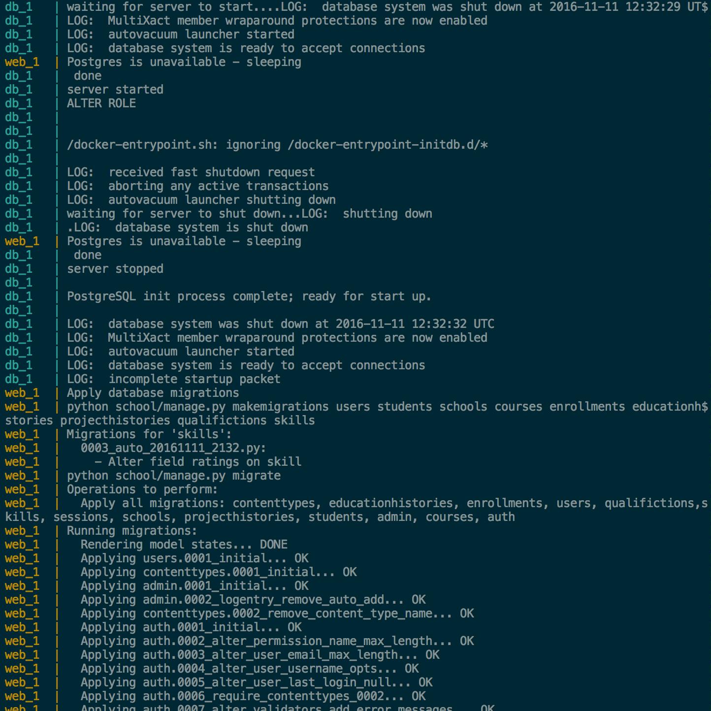 Docker Compose에서 컨테이너 Startup 순서 컨트롤하기